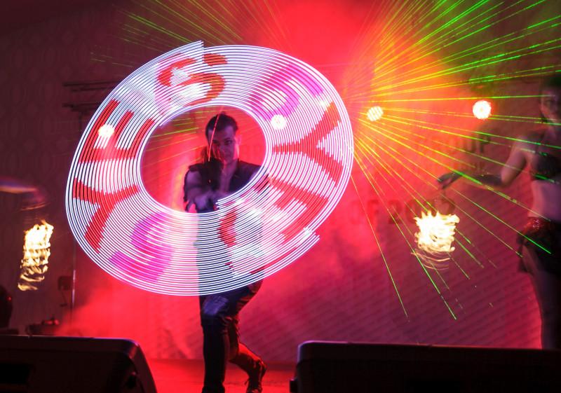 Anta Agni Firedancers Troupe - Fire Show and UV Light Show