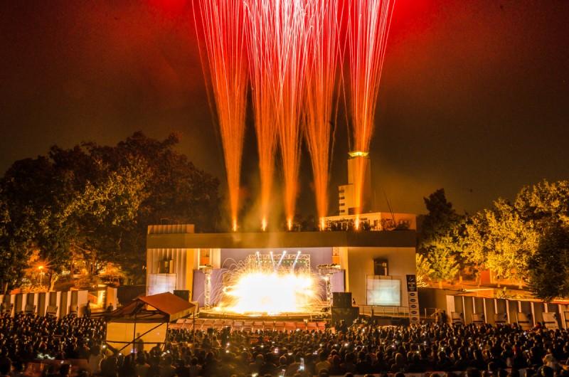 Anta Agni Pyrotechnics Show - Fire and UV Show