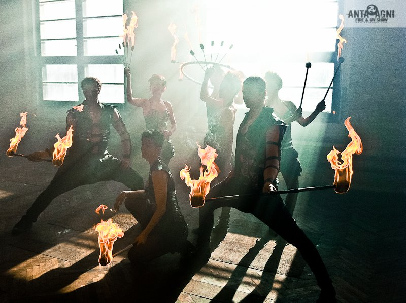 Anta Agni Firedancers - Photosession Fireshow