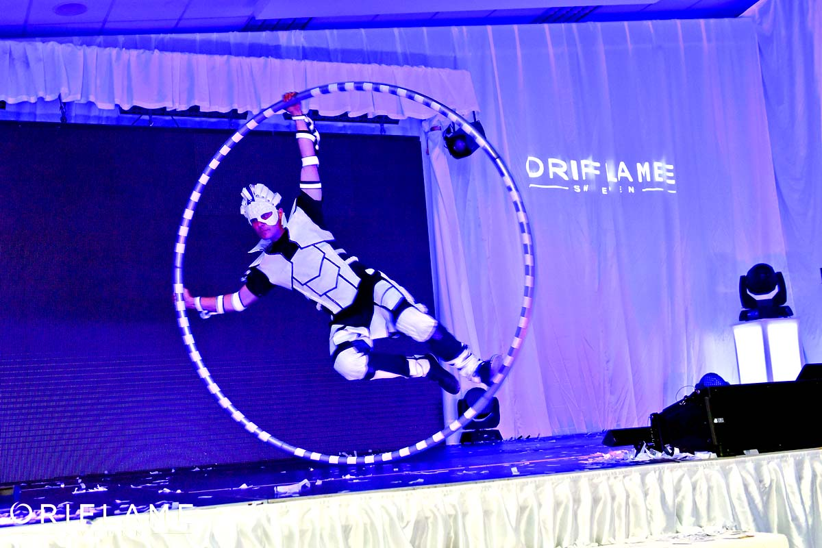 Anta Agni Cyr Wheel Oriflame UV Light Show