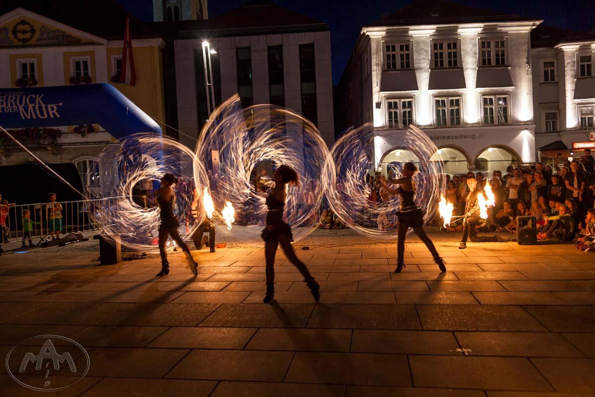 Anta Agni Fire Show Street Festival Murenschalk Austria