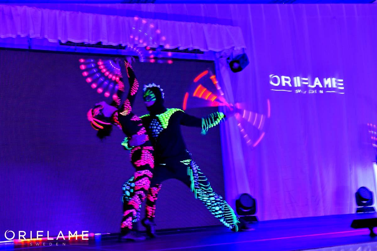 Anta Agni Oriflame Event UV Show