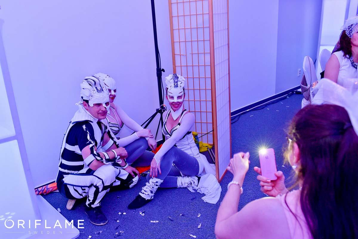 Backstage Anta Agni Dancers Oriflame Event UV Show