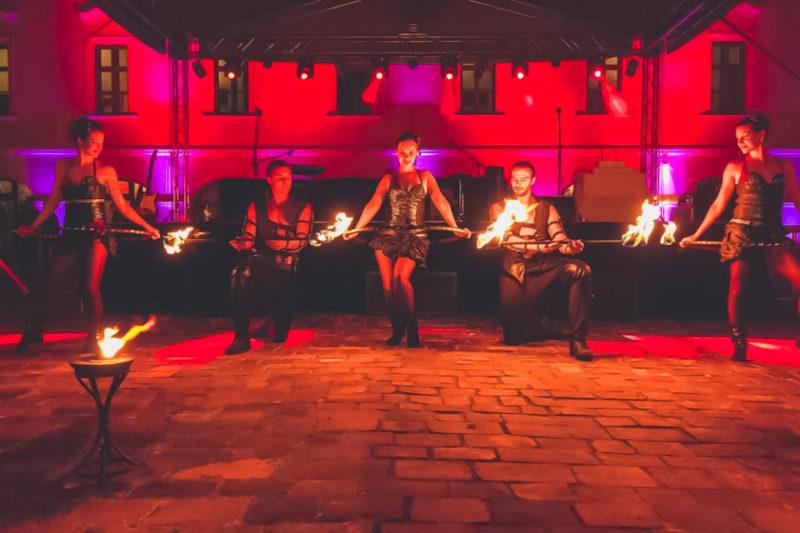 Anta Agni Grand Opening Viglas Fire Show