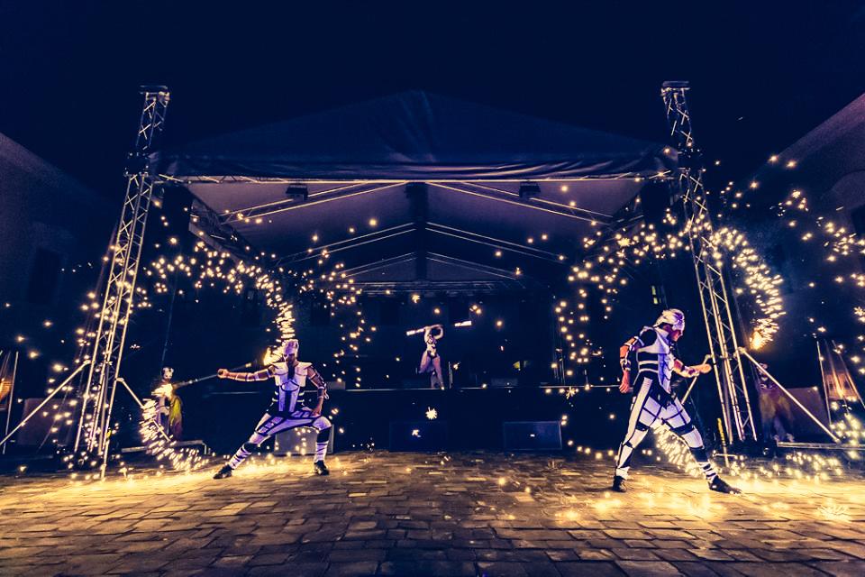 Anta Agni Grand Opening Viglas Pyro Show