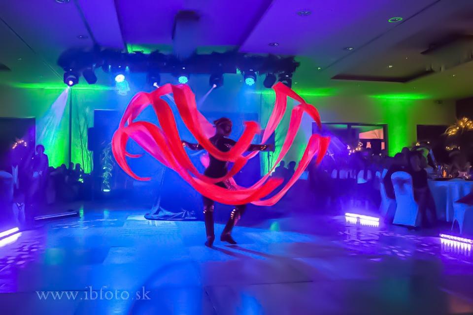 Anta Agni New Years Eve UV Show Lights