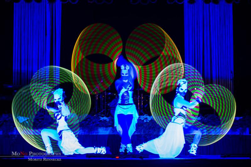 Anta Agni UV Light Show MKN Hannover