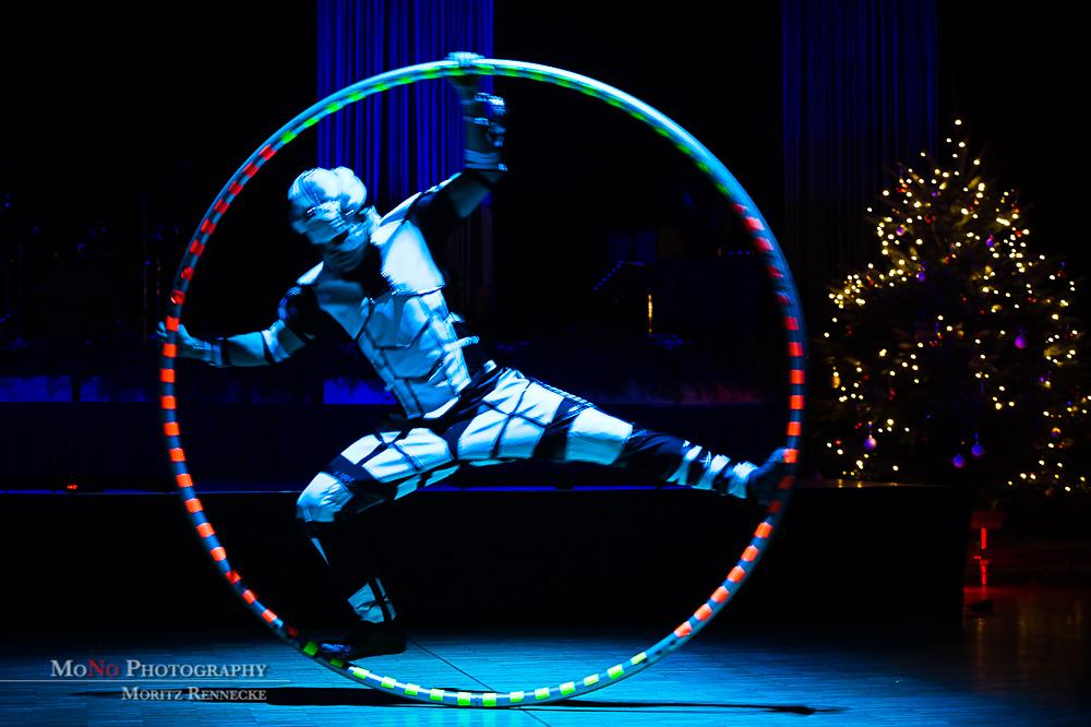 Anta Agni UV Light Show LED Cyr Wheel