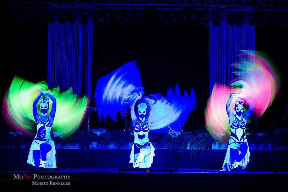 Anta Agni UV Light Show Flags Coloured