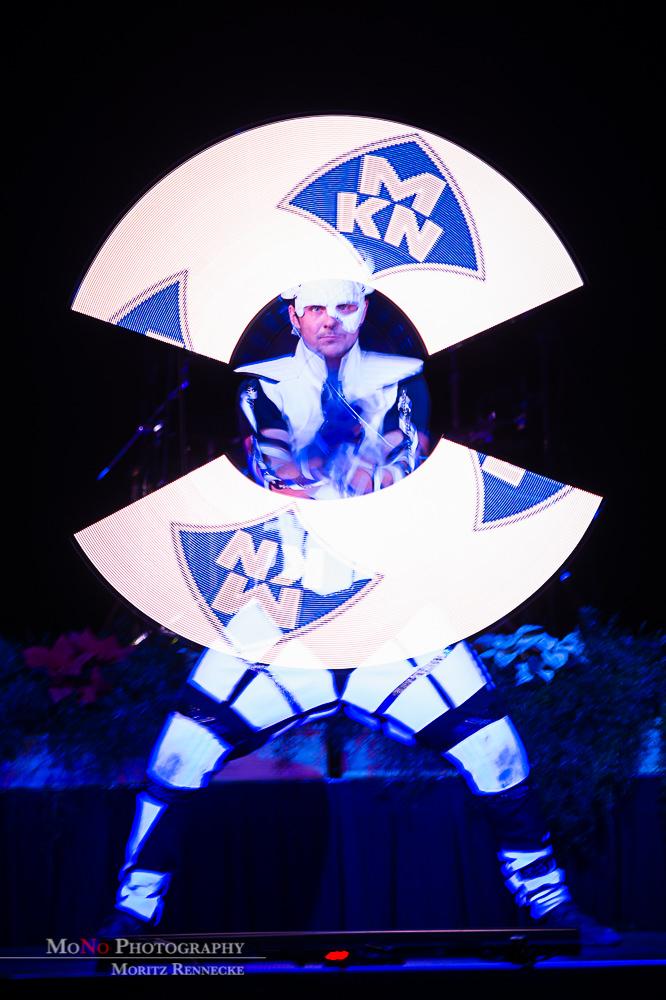 Anta Agni UV Light Show Pixel Poi MKN