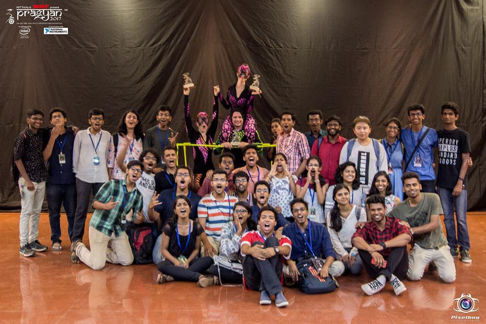 Pragyan Team with Anta Agni dancers