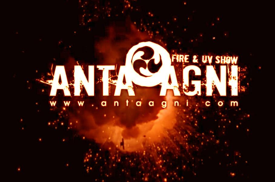 anta agni - fire show reel - video