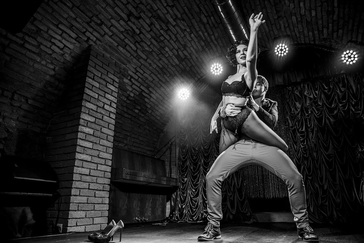 Dancers Anta Agni Red Cat Cabaret Show