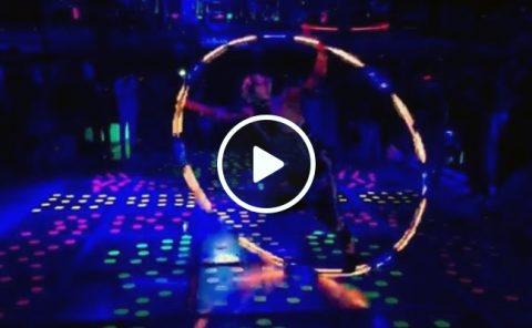 LED Pixel Light Cyr Wheel Show Video