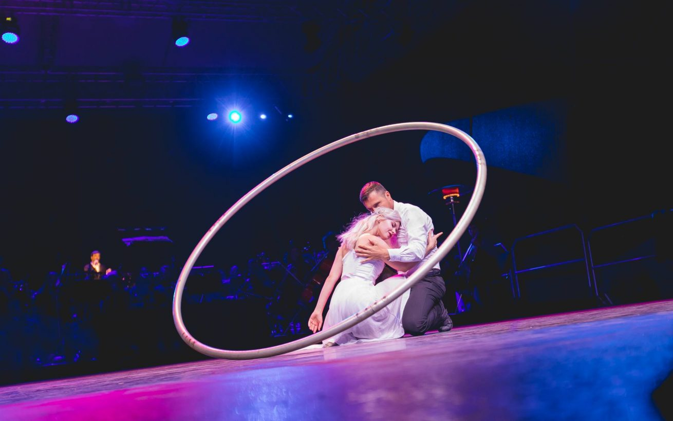 Cyr Wheel Duet - Wedding Rings - Anta Agni