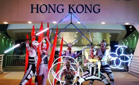 Anta Agni LED Light Show Hong Kong