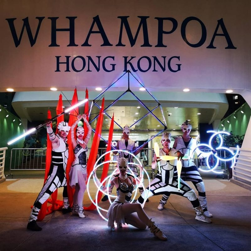 Anta Agni LED Light Show Hong Kong
