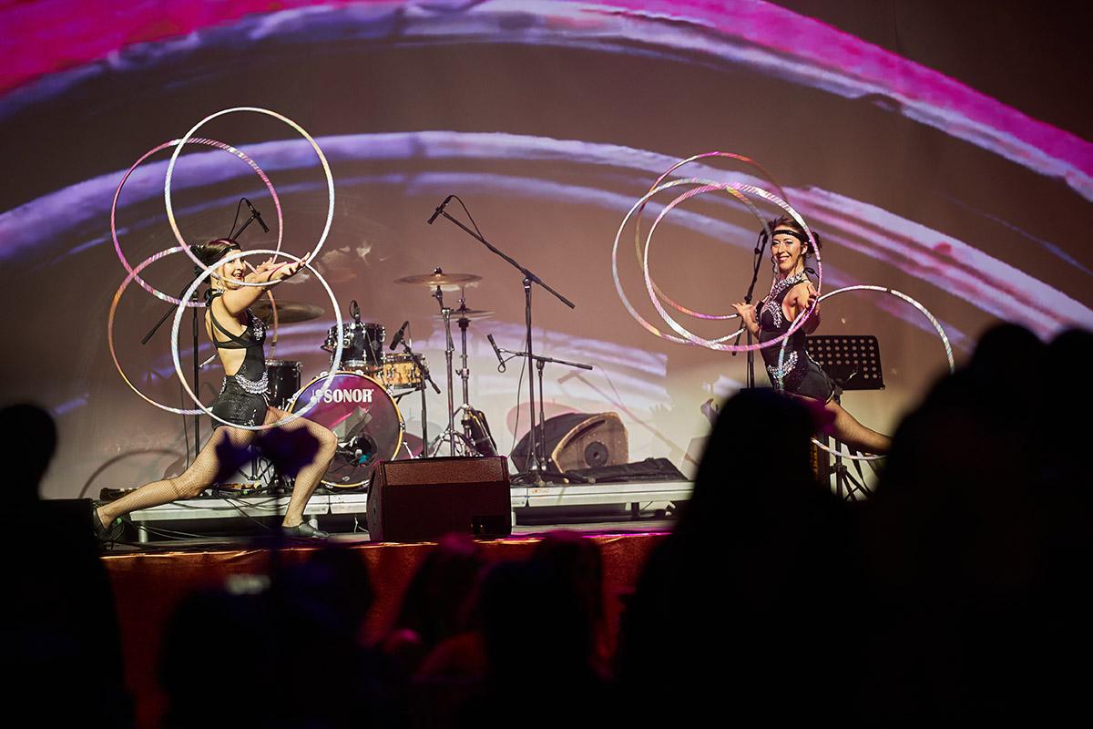 Hula Hoop Dancers - Anta Agni Cabaret Show